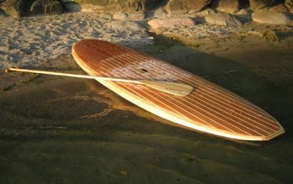 solid wood fish
