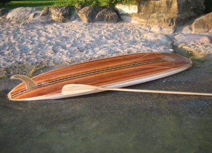 Wood Surfboard Supply Has Stand Up Paddleboard Kits