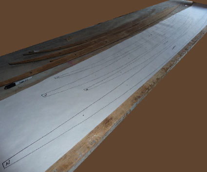 Full size spar templates to build a hollow wooden surfboard pronofoot35fo Image collections